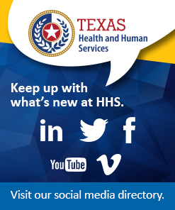 Texas HHS social media page